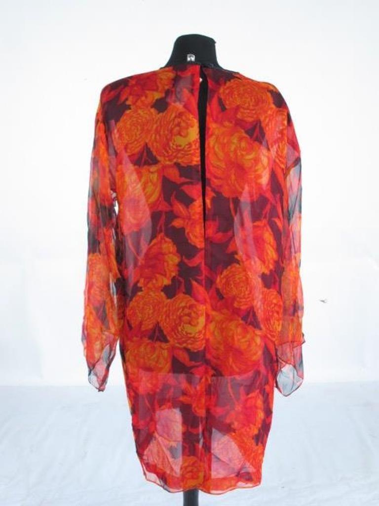 Bob Bugnand Chiffon Dress with Shawl Vintage Bob - 9