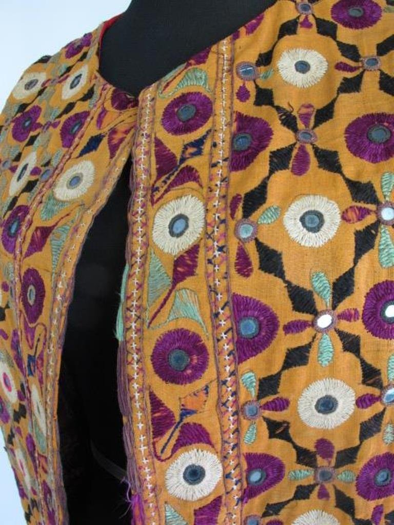 Two Embroidered Vests Two embroidered vests. One by - 3