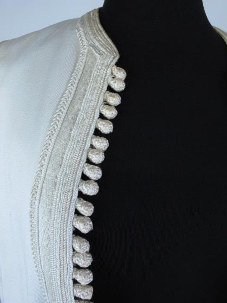 Two Embroidered Vests Two embroidered vests. One by - 7