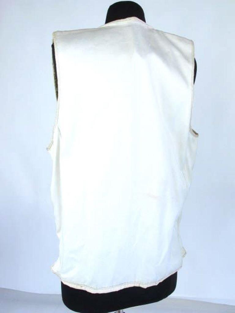 Two Embroidered Vests Two embroidered vests. One by - 8