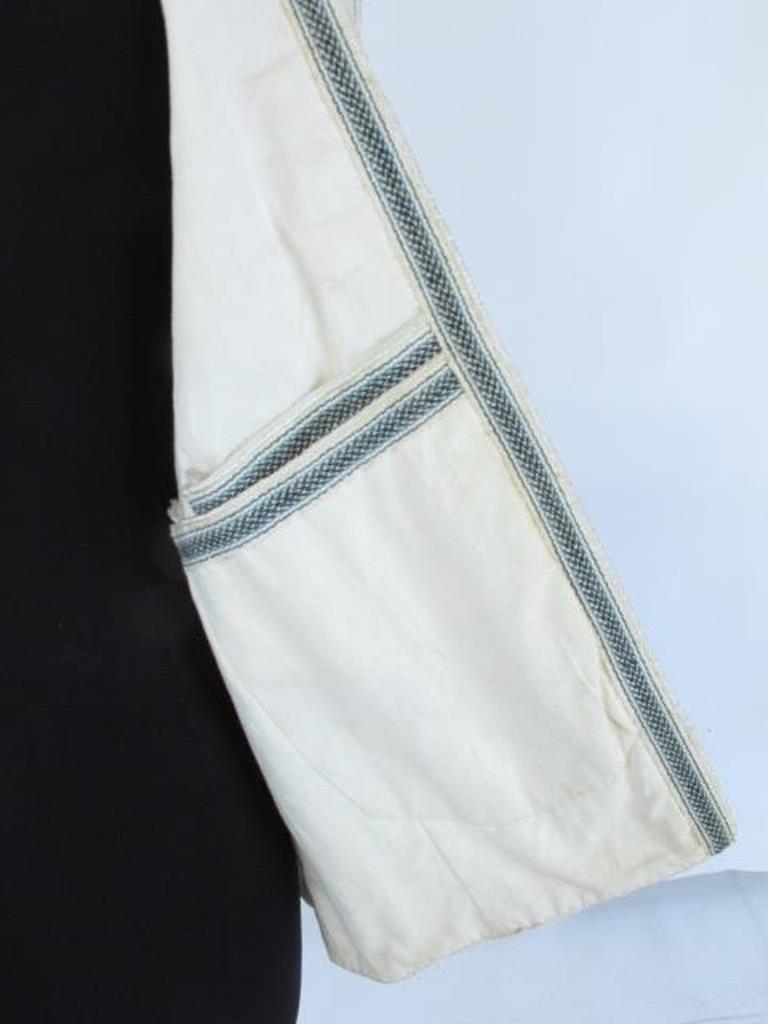 Two Embroidered Vests Two embroidered vests. One by - 9