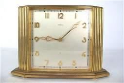 Angelus Mantle Clock Mantle clock having gilt metal