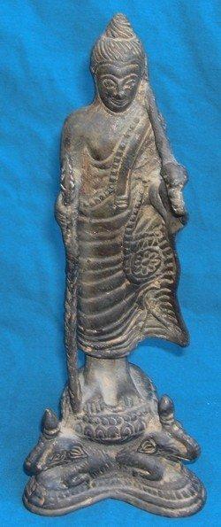 1201: Tamil Nadu Bronze Krishna Vijayanagar 18th C.