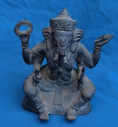 1202: Tamil Nadu Bronze Ganesh Vijayanagar 18th Century