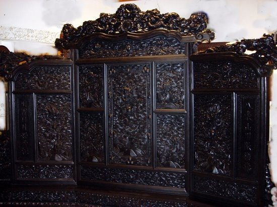 1281: Chinese Emperor's Throne Screen 5 Toed Dragons 18