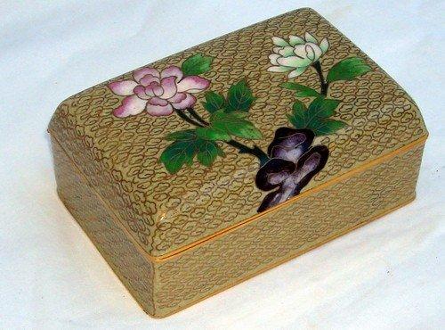 1617: Chinese Cloisonne Jewel Box