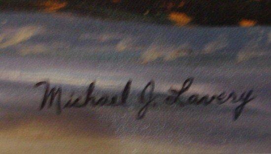 1643: Oil Painting Lavery Las Brisas Laguna Beach - 3