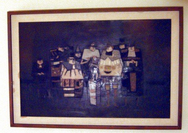 1655: Oil Painting Antonio Rodriquez Luna 1910 - 1985