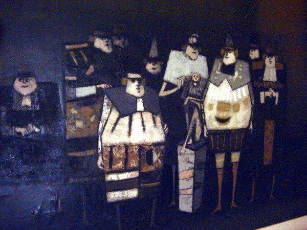 1655: Oil Painting Antonio Rodriquez Luna 1910 - 1985 - 2