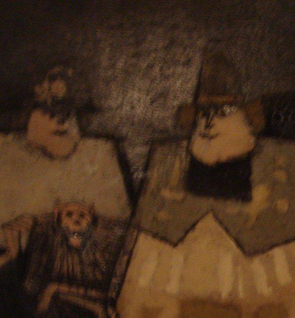 1655: Oil Painting Antonio Rodriquez Luna 1910 - 1985 - 3