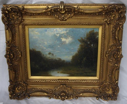1670D: Oil Painting Alexander Helwig Wyant 1836 - 1892