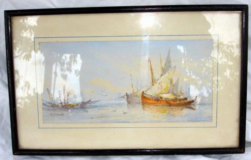 2006: Painting William Stewart 1823 - 1906 Venice - 2