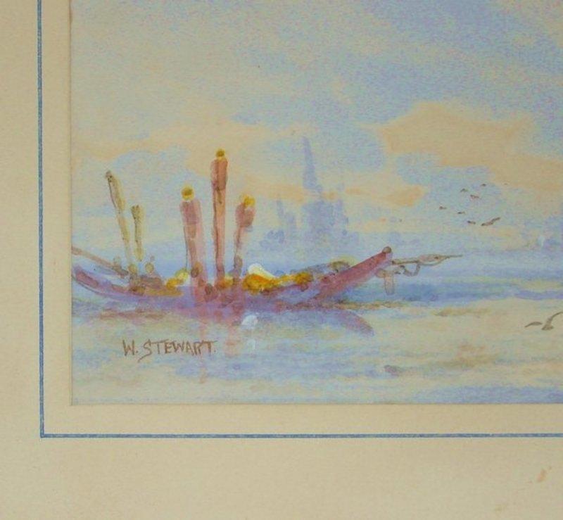 2006: Painting William Stewart 1823 - 1906 Venice - 3