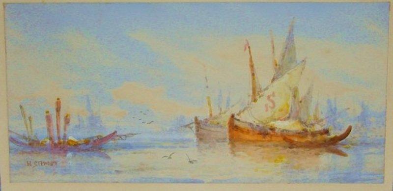 2006: Painting William Stewart 1823 - 1906 Venice - 4