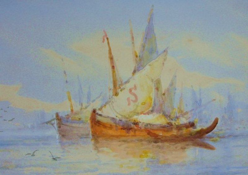 2006: Painting William Stewart 1823 - 1906 Venice - 5