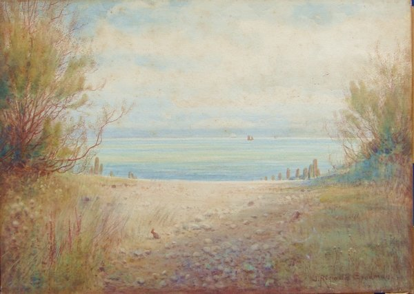 2009: Painting J. R. Goodman 1878 – 1949 English Seasca