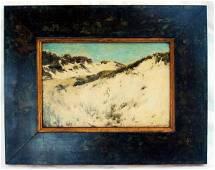 "2015: Oil Painting Leon Moran ""Hampton Dunes"" 1864 - 19"