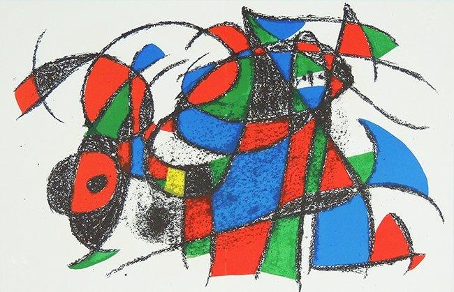 Joan Miró i Ferrà, original lithografy