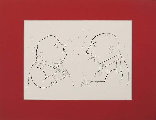 George Grosz, Those Responsables, titel by Rifkind, Lit