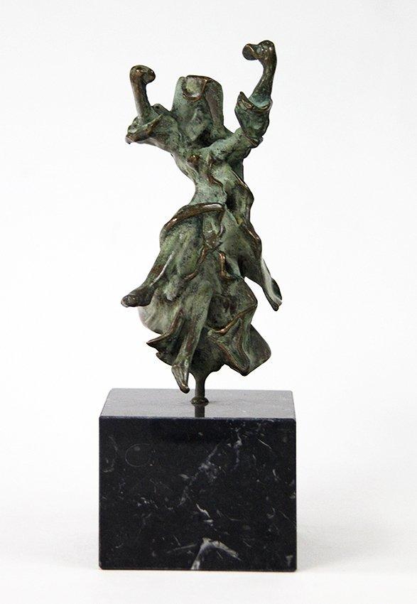 Salvador Dali, Carmen-Castanets, bronze sculpture