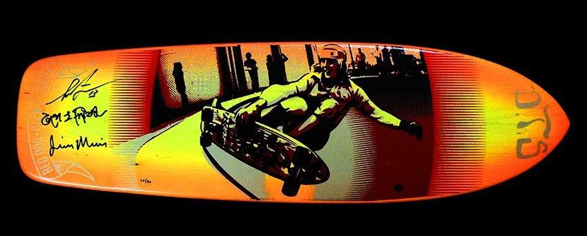 Erfreut Skateboard Deck Vorlage Zeitgenössisch ...