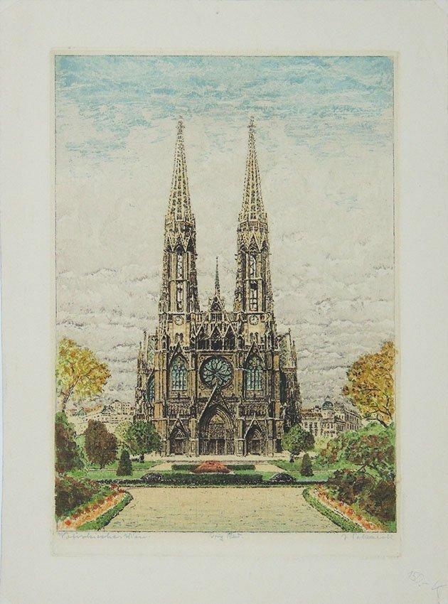 J. Pollack, Votivkirche Wien 1919