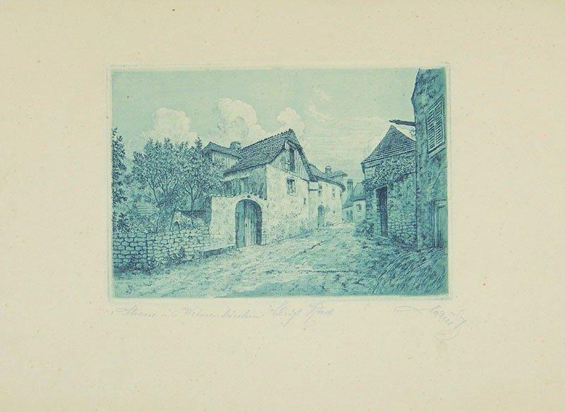 Julius, Straße in Weißenkirchen 1904