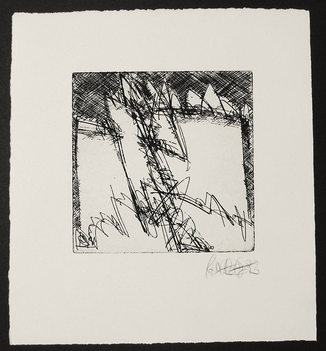 Robert Weber, etching
