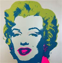 Andy Warhol / Marilyn Monroe, screenprint
