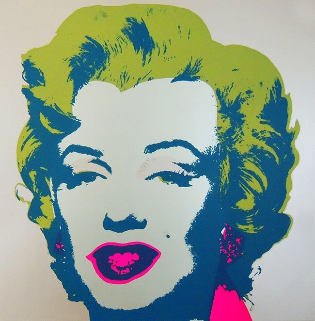 Andy Warhol / Marilyn Monroe, screenprint