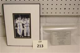 Signed Photograph of Mickey Mantle and Ted Williams