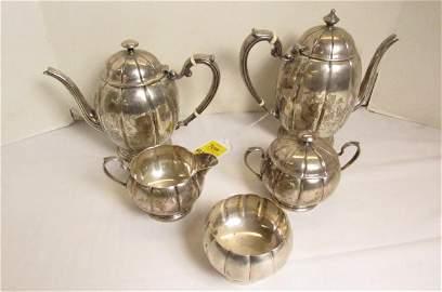 Sterling Tea set
