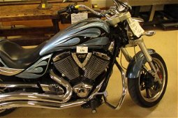 2010 Victory Hammer motorcycle