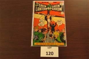 DC Green Lantern and Green Arrow