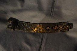 18kt Gold Snakeskin bracelet
