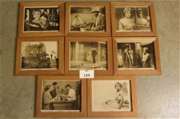 """Eight framed lobby cards from """"Psycho"""""""