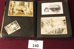 Rare Japanese, WWII-era photo album with approximately