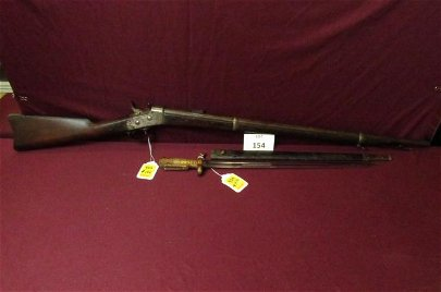 Springfield USN 1870 Rifle 50-70 excellent bore with