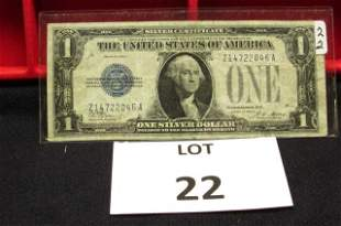 $1 Silver Certificate Funny Back Note-1928A
