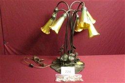 Tiffany reproduction Lily lamp