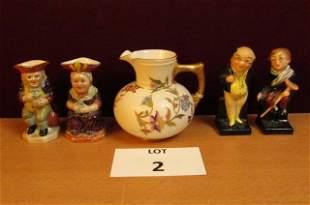 English pottery lot
