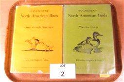 "Lot of 2 ""Handbook of North American Birds"" Edited by"