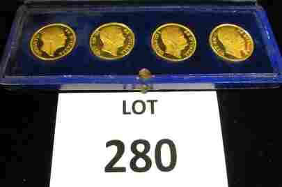 4-Centenary Unification of Italy Coins(40g-.900)
