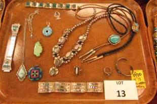 Southwestern and Asian jewelry
