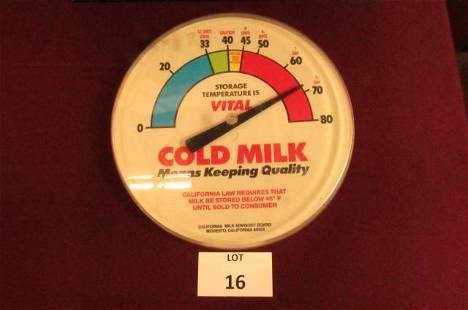 California Milk Advisory Board thermometer