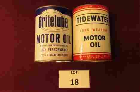 Salesman Sample oil cans