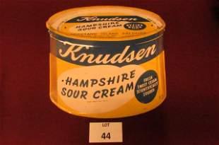 Knudsen Hampshire sour cream sign