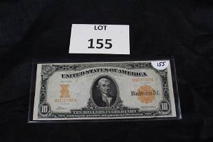 1907 $10 US Gold Certificate