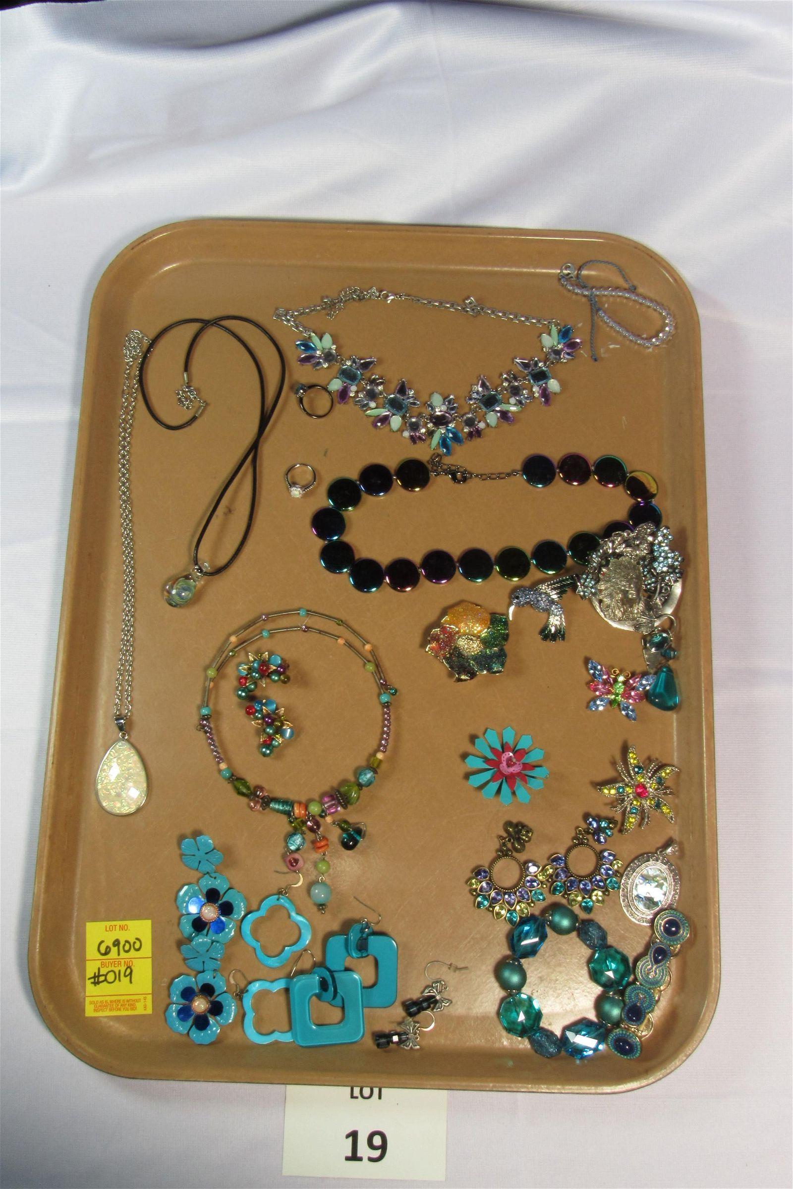 Colorful Collection of Costume Jewelry