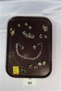 Collection of Signed Costume Jewelry